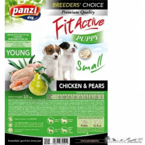 Fit Active Breeders Choice Puppy Small breeds CHICKEN&PEARS 15kg