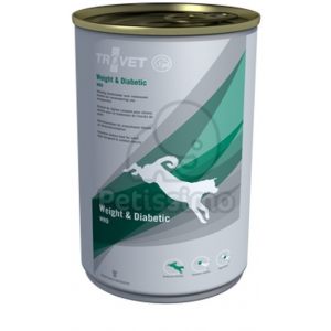 Trovet Weight And Diabetic Dog Konzerv (WRD) 400 g