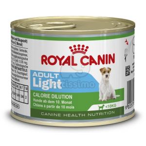Royal Canin Mini Adult Light konzerv 195 g