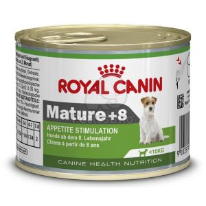 Royal Canin Mini Mature +8 konzerv 195 g