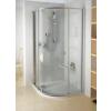 Ravak PSKK3-100 negyedköríves zuhanykabin Fehér/Fehér+Transparent