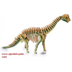 3D Brachiosaurus puzzle összerakós kreatív játék.