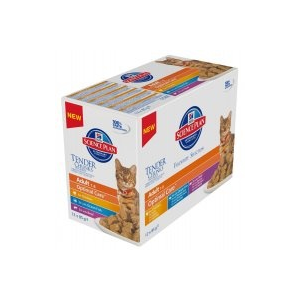 Hill's SP Feline Adult Multipack Fish 12 x 85 g