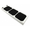 XSPC Triple Fan Radiator AX360 - 360mm Fehér