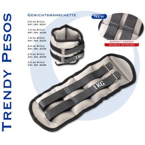 Trendy Kéz Lábsúly 2x1,5kg