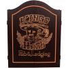 Innergames Kings Head Dart kabinet - black gold