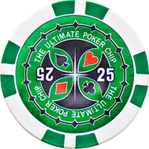 Buffalo Ultimate póker zseton 25