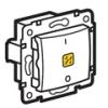 Valena 2 pólusú kapcsoló ellenőrzőfény (250V~/16AX) fehér