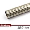 Fantasy karnis rúd hosszbordás - antik réz - 180 cm