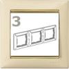 Valena-keret elefántcsont-arany, vízszintes (3-as)