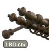 Carballo fa karnis mahagóni, kétsoros, 180 cm