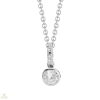 Silvertrends ezüst nyakék - ST457