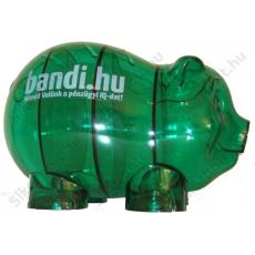 Bandi az okos malac - Különleges Malacpersely (zöld)
