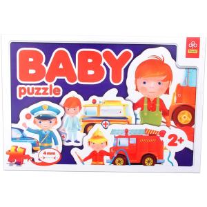 Trefl Foglalkozások - bébi puzzle