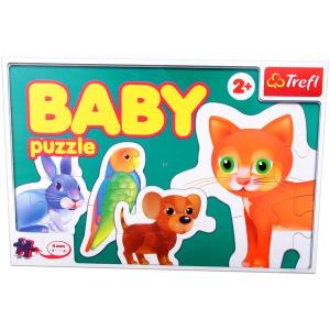 Állatok - bébi puzzle
