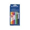 STAEDTLER Színes ceruza készlet, háromszögletû, STAEDTLER Ergo Soft, 12 különbözõ szín