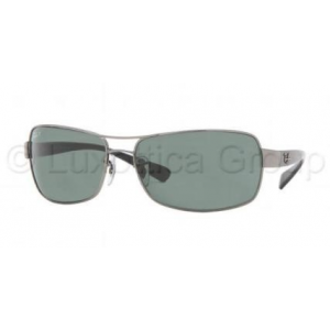 Ray-Ban RB3379 004/58 GUNMETAL CRYSTAL GREEN POLARIZED napszemüveg