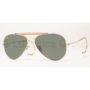 Ray-Ban RB3030 L0216 ARISTA CRYSTAL GREEN OUTDOORSMAN napszemüveg