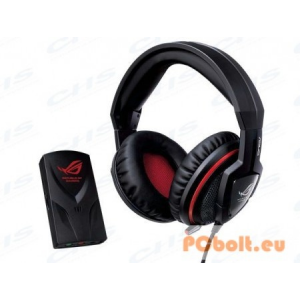 Asus Orion Rog Headset for Consoles Headset,2.0,3.5mm,Kábel:2,5m,32Ohm,20-20000Hz,Mikrofon,Black/Red,Konzol