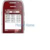 Nokia E75 plexi piros