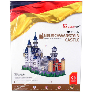 Neuschwansteini kastély - 3D puzzle