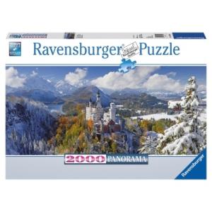 Ravensburger Neuschwanstein puzzle, 2000 darabos