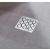Ravak SN501 Hullámmintás padlóösszefolyó