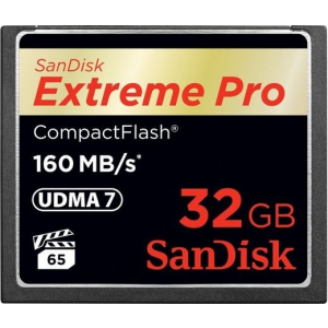 Sandisk Extreme PRO CompactFlash 160 MB/s 32GB