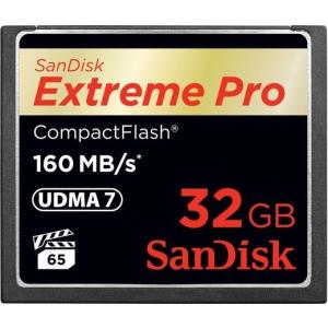 Sandisk Extreme PRO CompactFlash 160 MB/s 32GB