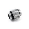 XSPC 10mm adapter 2x 1/4coll menet - króm