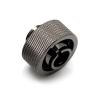 XSPC Csatlakozó 1/4 coll 19/13mm - fekete króm