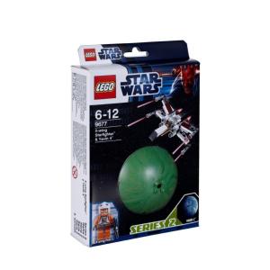 LEGO Star Wars - X-wing Starfighter és Yavin 4 bolygó 9677