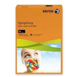 """Xerox Másolópapír, színes, A4, 160 g,  """"Symphony"""", narancs (intenzív)"""