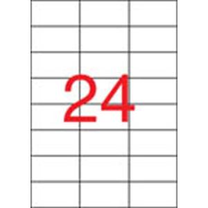 APLI Etikett, univerzális, 70x37 mm, , 600 etikett/csomag