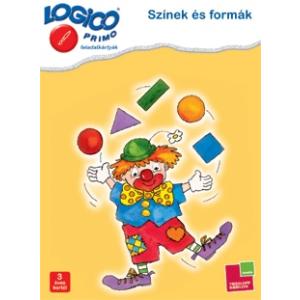 Tessloff Logico Primo feladatkártyák - Színek és formák