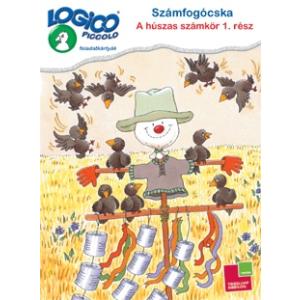 Tessloff Logico Piccolo feladatkártyák Számfogócska: A húszas számkör 1. rész