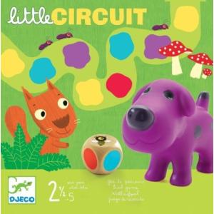 DJECO Little circuit Színlépegetős