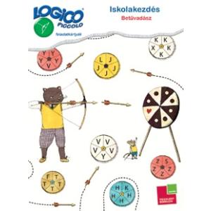 Tessloff Logico Piccolo feladatkártyák - Iskolakezdés: betűvadász