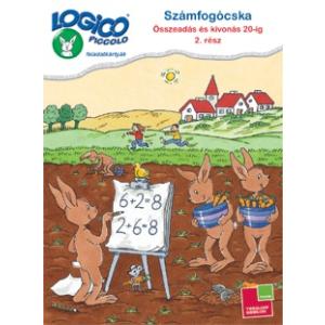 Tessloff Logico Piccolo feladatkártyák Számfogócska: Összeadás és kivonás 20-ig 2. rész
