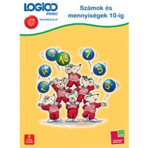 Tessloff Logico Primo feladatkártyák - Számok és mennyiségek 10-ig