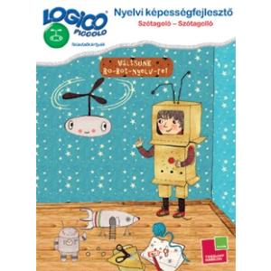 Tessloff Logico Piccolo feladatkártyák - Nyelvi képességfejlesztő: Szótagoló - szótagolló