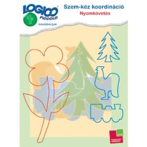 Tessloff Logico Piccolo feladatkártyák - Szem-kéz koordináció: Nyomkövetés