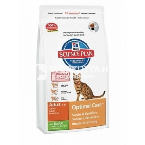 Hill's SP Feline Adult Optimal Care™ Rabbit 2 kg