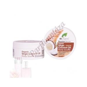 Dr. Organic Coconut Oil Testápoló szuflé 200 ml
