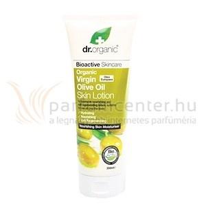 Dr. Organic Virgin Olive Oil Testápoló 200 ml