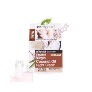 Dr. Organic Coconut Oil Éjszakai krém 50 ml
