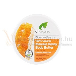 Dr. Organic Manuka Honey Testápoló Vaj 200 ml