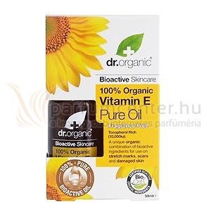 Dr. Organic Vitamin E Bőrápoló olaj 50 ml