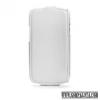 CELLY Galaxy S4 flip lenyithatós bőr tok,Fehér