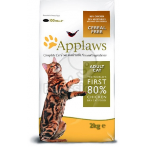 Alpha-Vet Kft. Applaws Cat Adult Chicken 0,4 kg